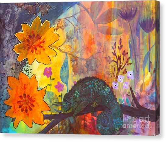 Jackson's Chameleon Canvas Print