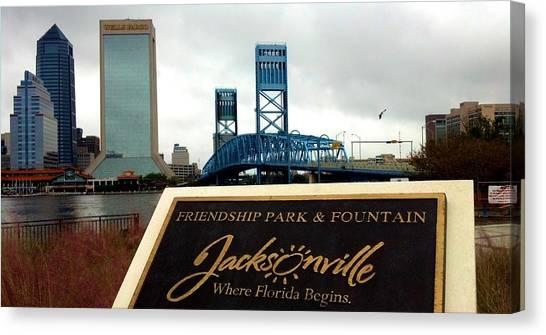 Jacksonville Canvas Print