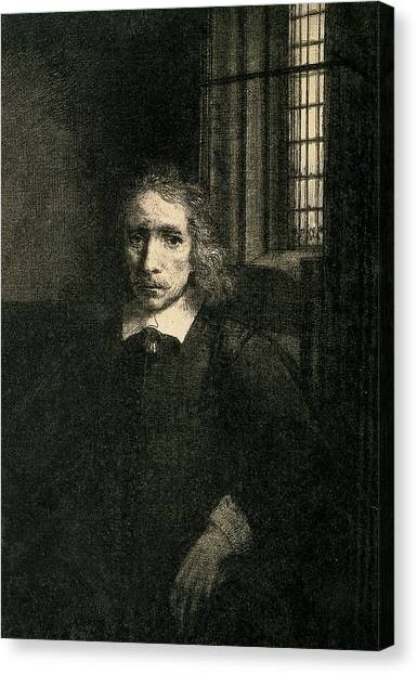 Rembrandt Canvas Print - Jacob Haaringh by Rembrandt