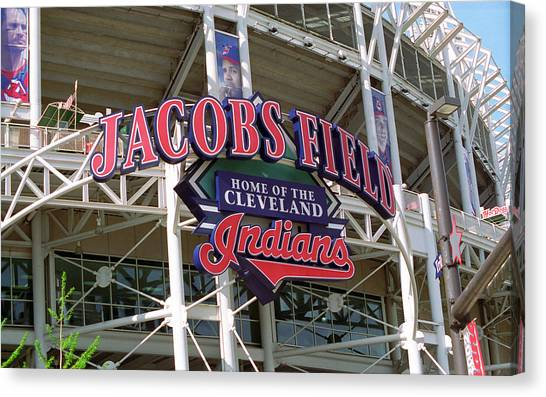 Jacobs Field - Cleveland Indians Canvas Print