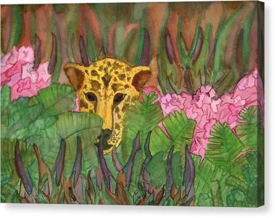 Jaguar Prowl Canvas Print