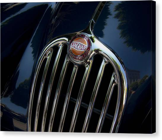 Jaguar Xk140 Canvas Print