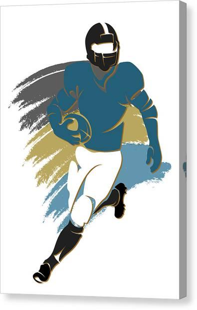 Jacksonville Jaguars Canvas Print - Jaguars Shadow Player2 by Joe Hamilton