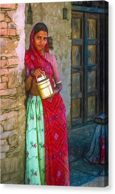 Thar Desert Canvas Print - Jaisalmer Beauty - Paint by Steve Harrington
