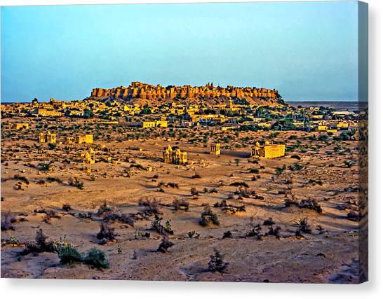 Thar Desert Canvas Print - Jaisalmer by Steve Harrington