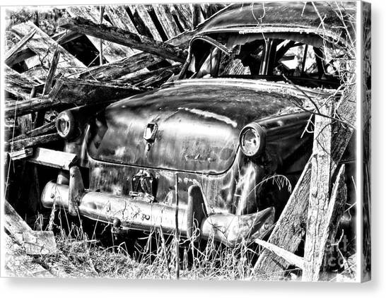 Jalopy For Rent Canvas Print