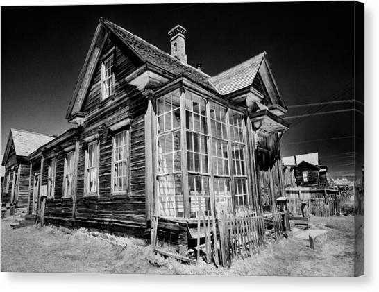 White House Canvas Print - James Cain House by Cat Connor