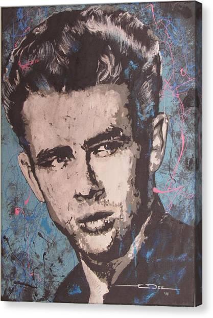 James Dean Blues Canvas Print