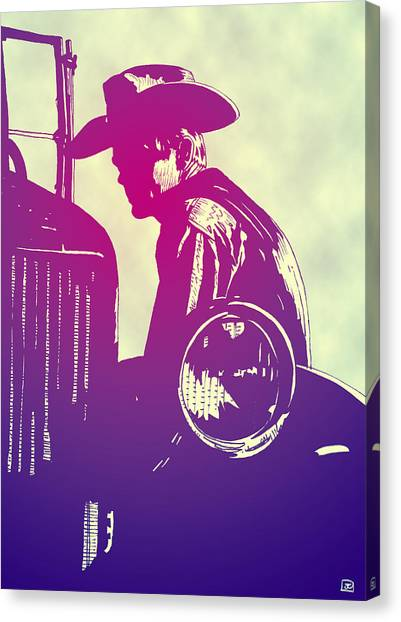 Pulp Canvas Print - James Dean by Giuseppe Cristiano