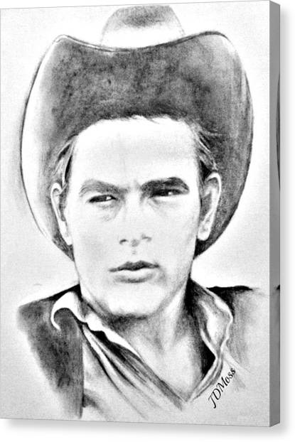 James Dean Canvas Print by Janet Moss
