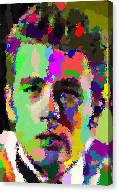James Dean Portrait Canvas Print