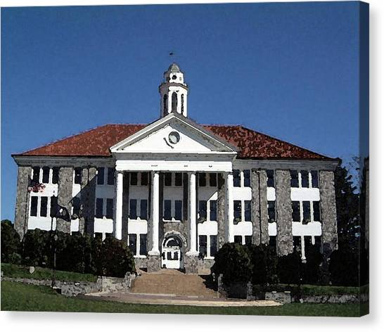 Caa Canvas Print - James Madison University by Olde Time  Mercantile