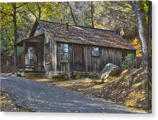 James Marshall Cabin Canvas Print