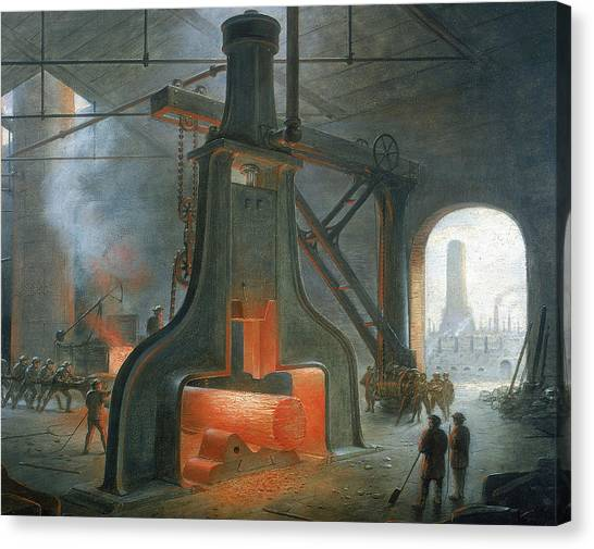 Iron Worker Canvas Prints | Fine Art America