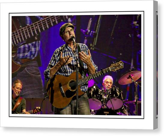 James Taylor Sweet Canvas Print