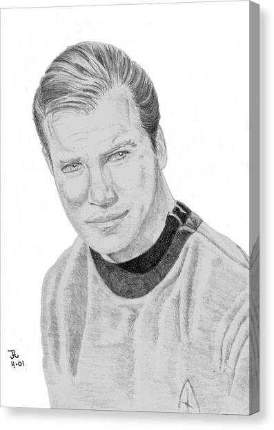 James Tiberius Kirk Canvas Print