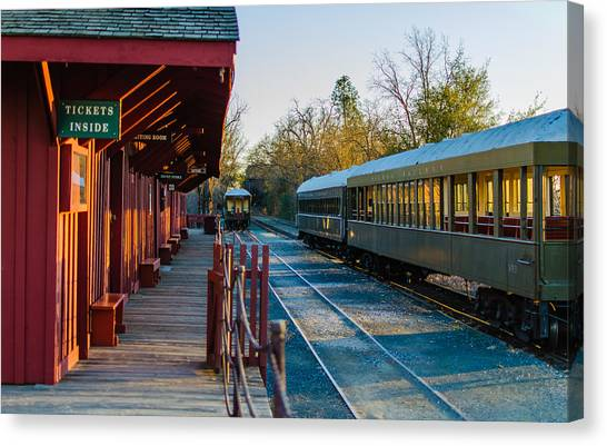 Jamestown Station Canvas Print