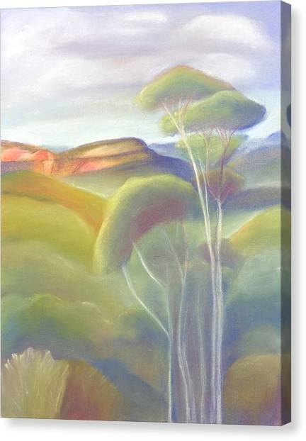 Jamison Valley Blue Mountains National Park Nsw Australia Canvas Print