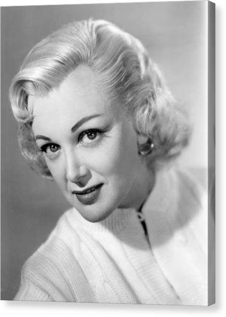 Sterling Canvas Print - Jan Sterling by Silver Screen