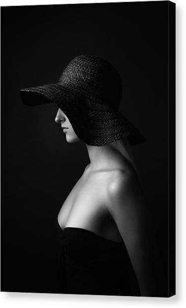 Shoulders Canvas Print - Jane Doe by Alexey Frolov