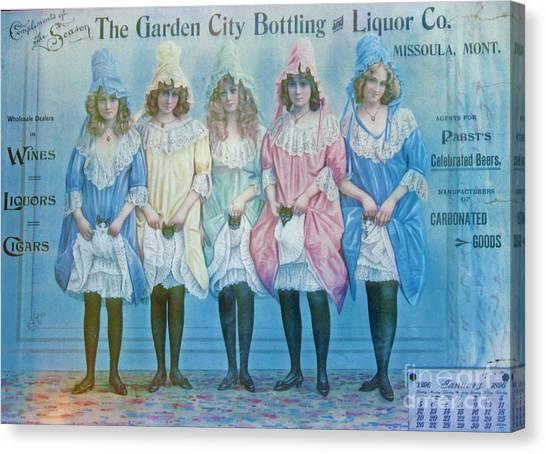 January 1896 Advertisement Canvas Print