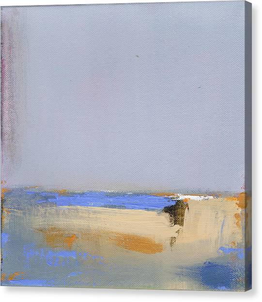 Abstract Seascape Canvas Print - January Harbor by Jacquie Gouveia