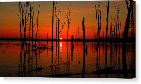 January Sunrise Canvas Print