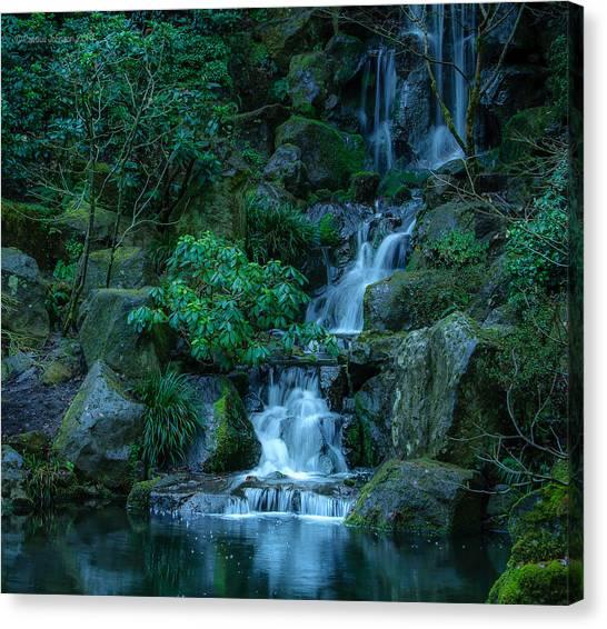Japanese Garden Serenity 1 Canvas Print