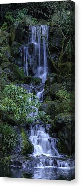 Japanese Garden Serenity 2 Canvas Print