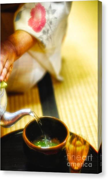 Japanese Tea Ceremony Canvas Print