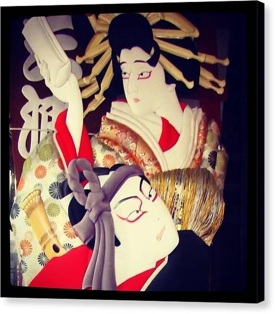 Samurai Canvas Print - #japao #japan #tokyo #toquio #samurai by Marco Santos