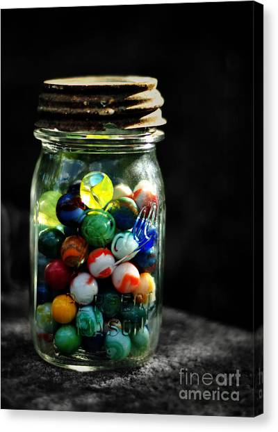 Jar Full Of Sunshine Canvas Print