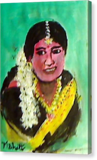 Jasmin Flowers Canvas Print by M Bhatt