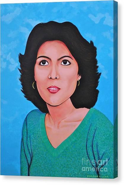 Jasmina Canvas Print