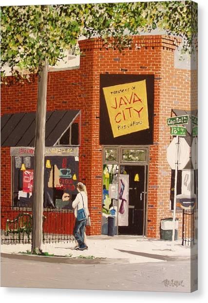 Java City Canvas Print by Paul Guyer