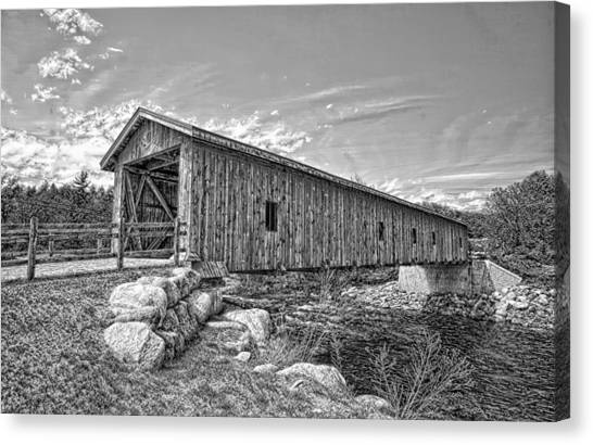 Jay Covered Bridge Canvas Print