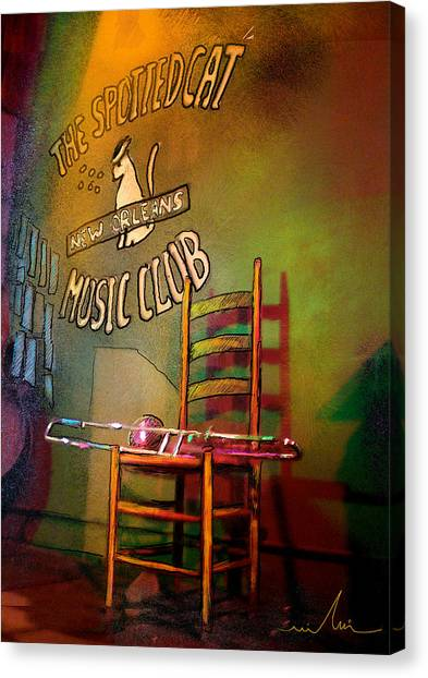 Jazz Break In New Orleans Canvas Print