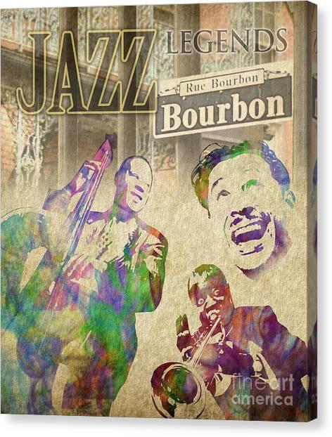 Jazz Legends Canvas Print