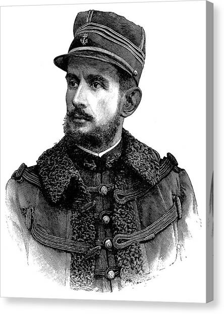 The Legion Canvas Print - Jean-baptiste Marchand by Science Photo Library