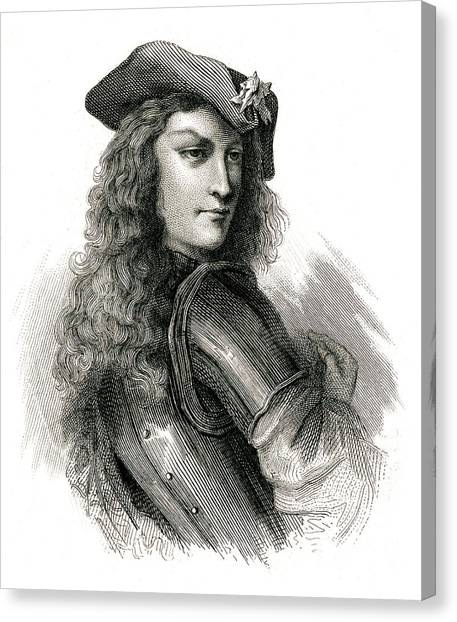 Jean Cavalier  French Insurgent, Leader Canvas Print by Mary Evans Picture Library