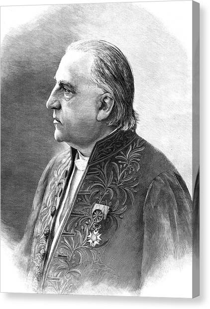 The Legion Canvas Print - Jean-martin Charcot by Collection Abecasis