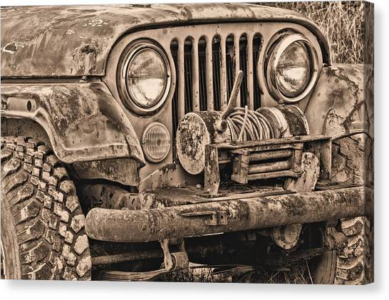 Gumbo Canvas Print - Jeep Cj Function Over Form by JC Findley