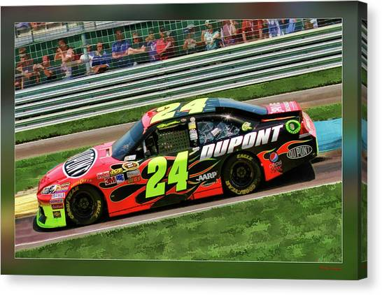 Jeff Gordon Canvas Print