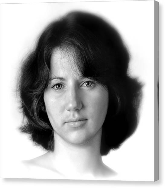 Jennifer Canvas Print by Dennis James
