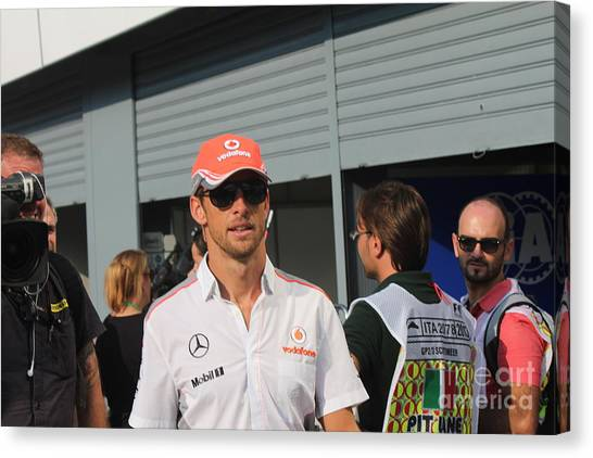 Jenson Button Canvas Print