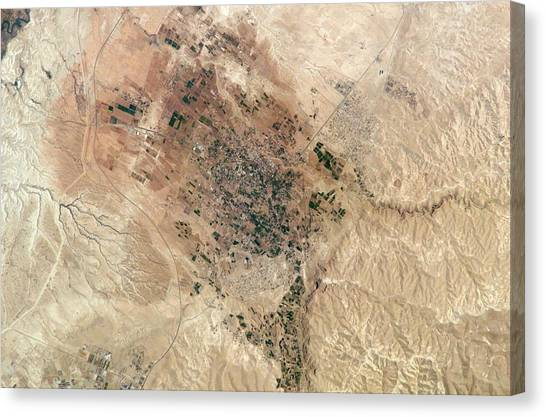 Palestinian Canvas Print - Jericho by Nasa