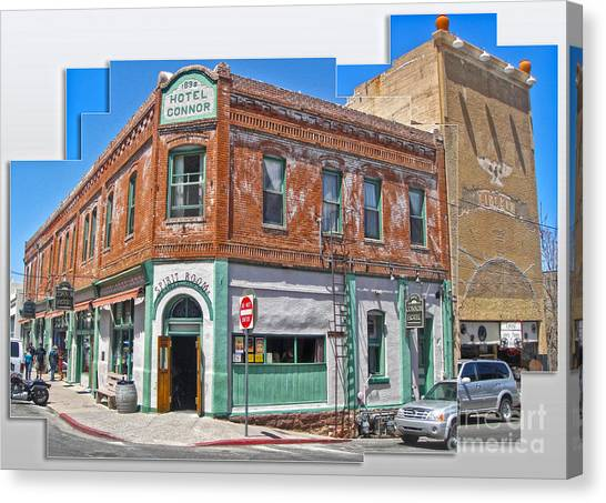 Jerome Arizona - Hotel Conner - 01 Canvas Print by Gregory Dyer