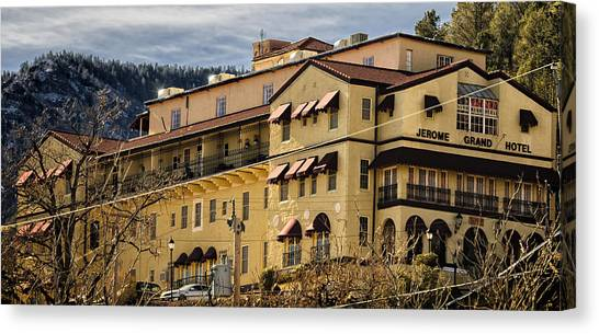 Jerome Grand Hotel No.18 Canvas Print