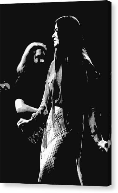 Jerry And Donna Godchaux 1978 A Canvas Print