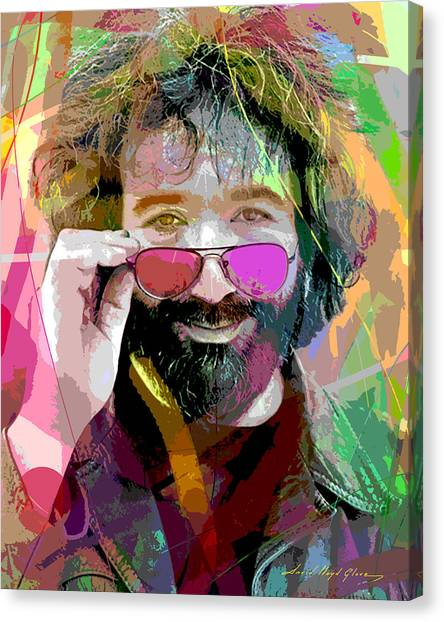 Jerry Garcia Art Canvas Print